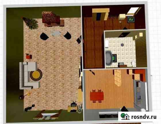 1-комнатная квартира, 35 м², 3/3 эт. Каменоломни