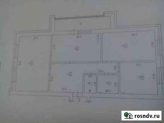 3-комнатная квартира, 82 м², 4/5 эт. Краснобродский