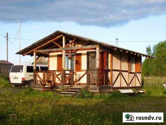 Коттедж 25 м² на участке 15 сот. Медвежьегорск