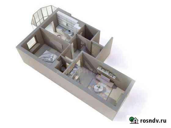 2-комнатная квартира, 52 м², 2/8 эт. Щеглово