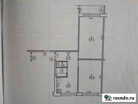 2-комнатная квартира, 48 м², 2/4 эт. Атемар