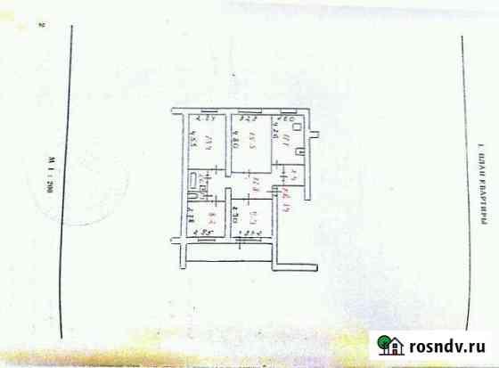 4-комнатная квартира, 77 м², 5/5 эт. Медвежьегорск