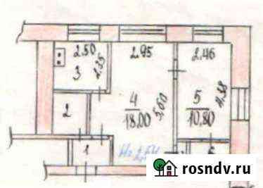 2-комнатная квартира, 41 м², 2/5 эт. Лямино