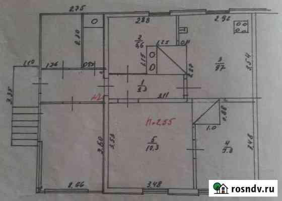 3-комнатная квартира, 38 м², 1/1 эт. Оричи