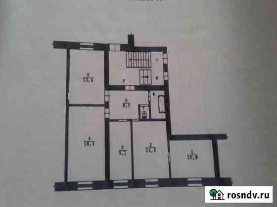 4-комнатная квартира, 79 м², 1/2 эт. Буланаш