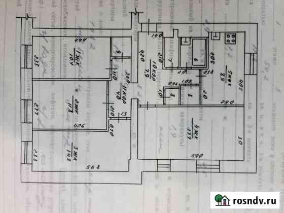 4-комнатная квартира, 82 м², 1/3 эт. Субханкулово