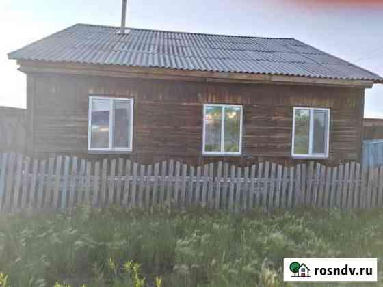 Дом 56 м² на участке 12 сот. Половинное