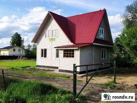 Дом 100 м² на участке 9 сот. Гарболово
