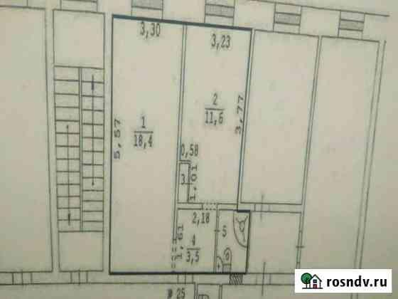 Комната 37 м² в 2-ком. кв., 4/5 эт. Талица