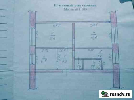 3-комнатная квартира, 48 м², 1/2 эт. Верх-Чебула