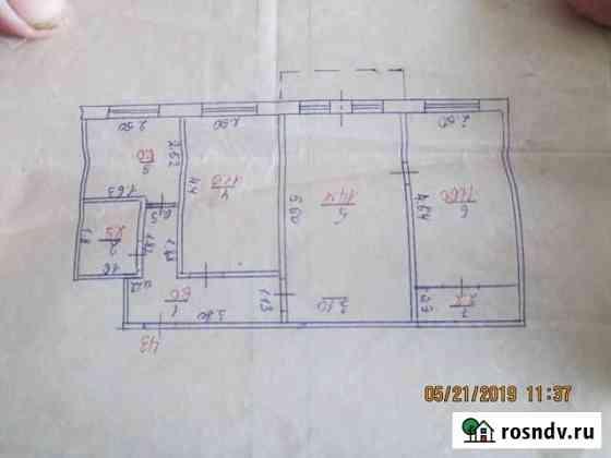 3-комнатная квартира, 57 м², 2/5 эт. Кувандык