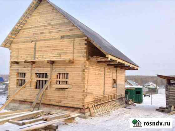 Дом 160 м² на участке 15 сот. Большеустьикинское