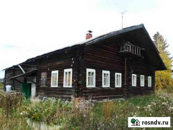 Дом 100 м² на участке 15 сот. Красноборск