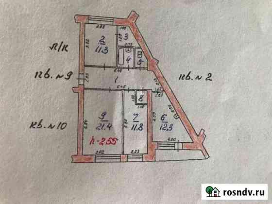 3-комнатная квартира, 78 м², 2/5 эт. Нижняя Салда