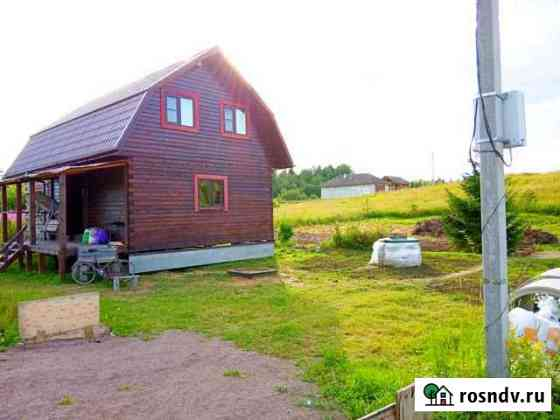 Дом 108 м² на участке 10 сот. Лесколово