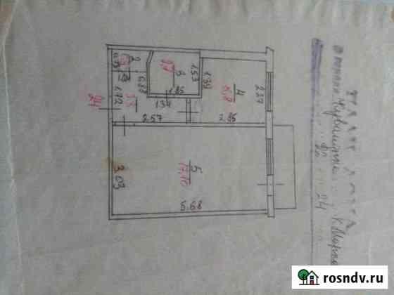 1-комнатная квартира, 30 м², 4/5 эт. Кувандык