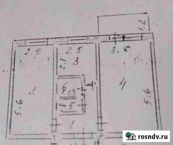 2-комнатная квартира, 44 м², 4/5 эт. Бодайбо