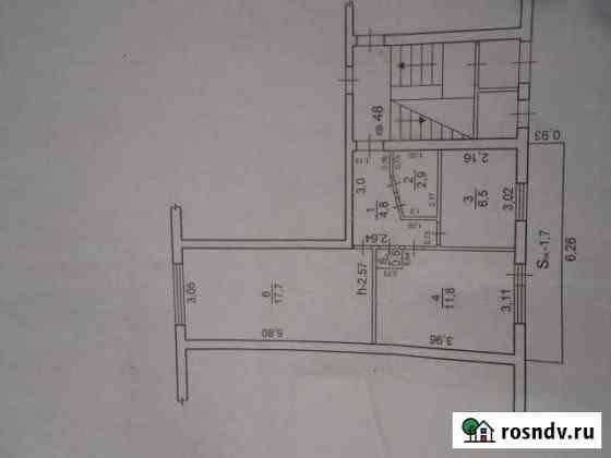 2-комнатная квартира, 42 м², 1/5 эт. Зея