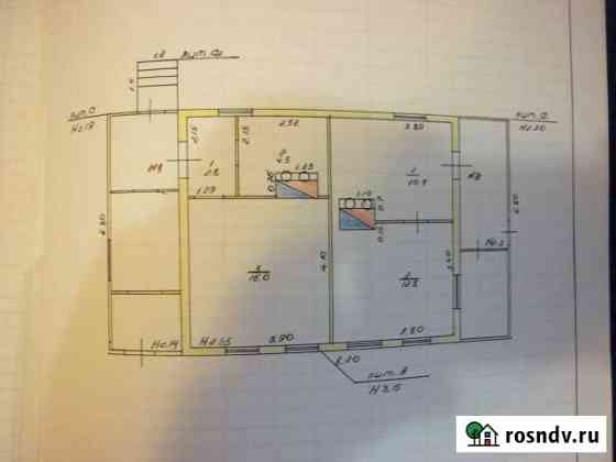 Дом 46.5 м² на участке 4.6 сот. Невель