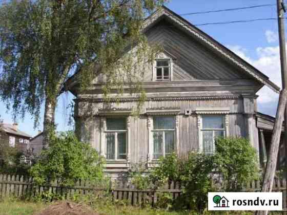Дом 118 м² на участке 14 сот. Тотьма