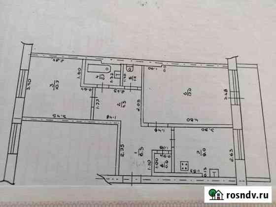 2-комнатная квартира, 53 м², 2/2 эт. Суксун