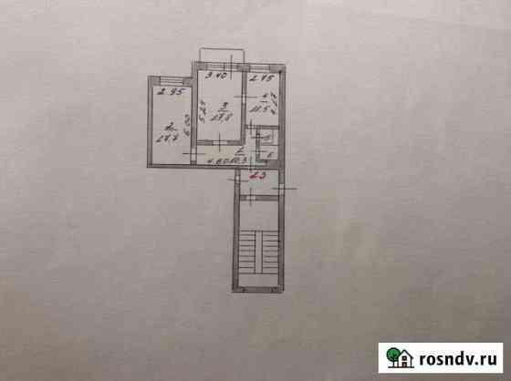 2-комнатная квартира, 61 м², 3/5 эт. Бежецк
