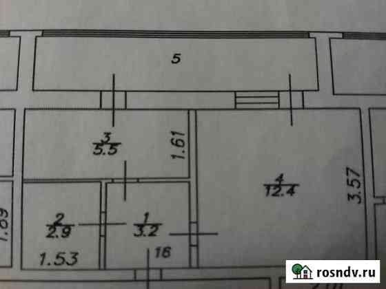 1-комнатная квартира, 24 м², 3/5 эт. Нариманов