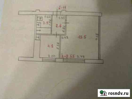 1-комнатная квартира, 26 м², 2/2 эт. Медвежьегорск