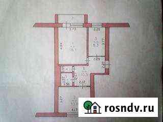 2-комнатная квартира, 58 м², 1/5 эт. Кулебаки